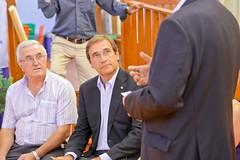 Autárquicas 2017: Pedro Passos Coelho no Seixal