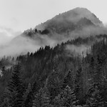 Low Clouds Hanging Around the Ridges of Mount Ross (North Cascades National Park Complex) thumbnail