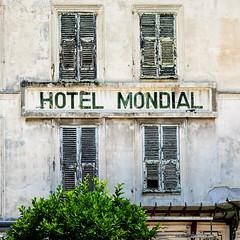 Hotel Mondial (Bruce Poole) Tags: hotel mondialrusty crusty2017brucepooledecaymentonotherkeywordsprovencealpescôtedazurvoletbruce poolehotel crusty volet decay derelict