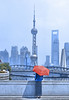 shanghai dream (poludziber1) Tags: street streetphotography skyline summer sky shanghai city colorful cityscape color colorfull clouds china people umbrella blue building architecture red urban travel tower