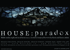 House Paradox Postcard A6 (Front) - Nicholas Godsell