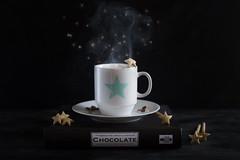 37/52 The magic of chocolate (Nathalie Le Bris) Tags: chocolate magic star estrella stilllife humo smoke taza cup smileonsaturday blackattheback lowkey