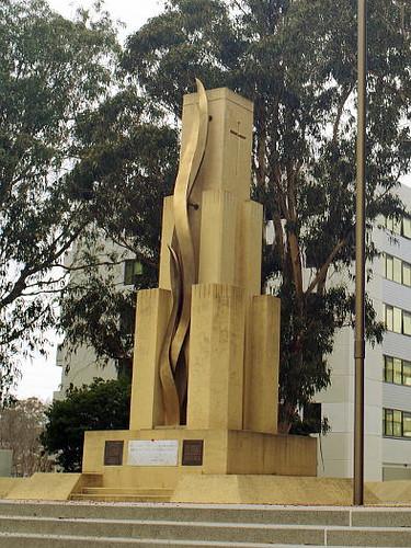 Rats of Tobruk Memorial, Anzac Parade, Canberra, ACT, Australia