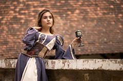 Meet the Princess (DanielConstantinescu) Tags: princess castle canon 6d sigma 105mmf28 naturallighting medieval