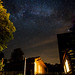 The Milky Way over our home.