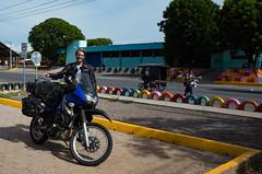Border crossing sucess! (El Salvador -> Honduras -> Nicaragua in one day) (cfculhane) Tags: chasingtheblackandwhitedog advrider ricohgr klr650 elsalvador honduras nicaragua bordercrossing paperwork