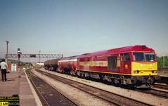 60017 (dave hudspeth photography) Tags: railway train nostalga diesel track transport britishrail iconic davehudspethgrey red blue gner crewe york newcastle