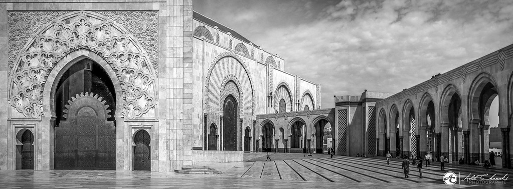 The world 39 s best photos of casablanca and mosquee flickr for Mosquee hassan 2 architecture