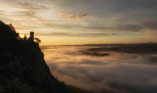 Sunrise at Kinnoull Hill