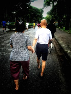 love forever ❤️ Rear View Senior Adult Walking Street Couple Two People Togetherness Men Full Length Couple - Relationship Real People Senior Women People Streetphotography Women Outdoors Day Care Road Bonding Adult Physical Impairment Architecture