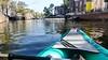 Canoeing in Amsterdam, Westerkerk (jbdodane) Tags: amsterdam canal canoe church europe netherlands westerkerk