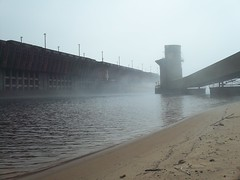 100_0001 (PGK88) Tags: photo photography image pgk88 oredock industrial dock architecture fog foggy water