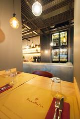 _DSC2116 (fdpdesign) Tags: pizzamaria pizzeria genova viacecchi foce italia italy design nikon d800 d200 furniture shopdesign industrial lampade arredo arredamento legno ferro abete tavoli sedie locali