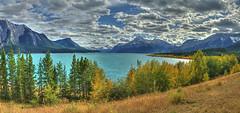 Abarham Lake (John Payzant) Tags: abraham lake alberta canada hdr panorama
