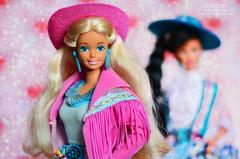 Western Fun Barbie (Lindi Dragon) Tags: barbie doll mattel nia kira marina superstar western 1989