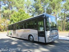 IVECO BUS Crossway Line - Médoc Évasion (Clément Quantin) Tags: car autocar interurbain scolaire iveco bus ivecobus crossway line crosswayline dx750dm médoc évasion médocévasion