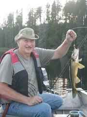 18-08-2017 Huronian - 11 (s.kosoris) Tags: skosoris pentaxoptiowg1 wg1 pentax huronian camp camping dad walleye pickerel fish