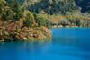 blue and autumn (peaceful-jp-scenery (busy)) Tags: shigakogen highland ohnumaike pond blue 志賀高原 大沼池 山ノ内町 長野 日本 sony cybershot dscrx10m3 24600mmf2440 20mp