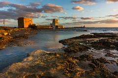 A Midsummer Day's Sunset (luigig75) Tags: tramonto sicilia marsala italia italy sonyepz1650mmf3556oss sonyilce5000 alpha summer estate sicily sunset seascape landscape clouds