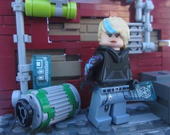 FANTXTIK CONTEST ENTRY: Ema Raile (Marley Mac) Tags: lego marleymac fantxtik contest entry superhero minifig minifigure mini figure