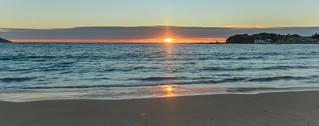 Panorama Sunrise Seascape