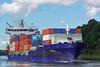 CERES (9429211) (002-09.09.2015) (HWDKI) Tags: ceres imo 9429211 schiff ship vessel hanswilhelmdelfs delfs kiel nordostseekanal kielcanal nok containership containerschiff mmsi 305531000 landwehr