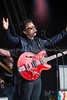 Camp Bestival music festival;  Lightning Seeds on stage at Camp Bestival July 2017. Credit: Stuart Walker/Alamy Live News (Gixerstu) Tags: lightningseeds musicfestival singer campbestival dorset onstage