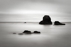 Pacific Nostalgy (StefanB) Tags: 1235mm 2017 bw california coast em5 geotag longexposure monochrome outdoor pacific pismobeach seascape