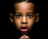 Peeking out from the dark (Anthony. B) Tags: dark lowkey lowkeyphotography portrait portraits kids child cute shadow contrast highlights flashphotography flash nikon d3100 55200mm