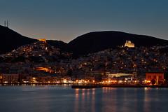 Ermoupoli (Thomas Mülchi) Tags: syros southaegean greece 2017 siros cycladesislands cyclades spring islandhopping sea nightshot ermoupoli gr