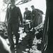 Wounded Marine Brought to Underground Evacuation Hospital, Iwo Jima, 1945