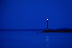 Lighthouse (deVetal) Tags: lighthouse маяк sea море evening вечір вечер twilight сутінки сумерки coast берег boat човен лодка water вода seaside