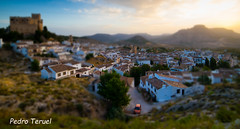 una vista desde las alturas de Vélez Blanco (efecto maqueta) (pedrojateruel) Tags: castillo vélezblanco maqueta dibujo efecto