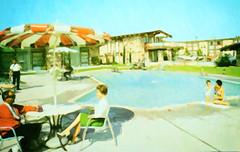 Concord Inn, Concord, California (Thomas Hawk) Tags: america california concord concordinn usa unitedstates unitedstatesofamerica vintage motel pool postcard swimmingpool fav10 fav25