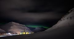 Longyearbyen Spitsbergen (Steven-ch) Tags: arctic eos5dmarkiv polarlight svalbard winter travel spitsbergen mountain hdr norway longyearbyen canon europe polarnight snow svalbardandjanmayen sj