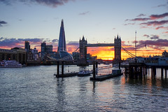 Glowing London (SpectrumLight) Tags: uk london england city skyline sunset sunsetlight water river thames shard architecture building bridge towerbridge sonyilce7m2 sonya7ii fe1635mmf4zaoss sony cityscape