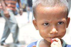 In Chinatown (sanat_das) Tags: kolkata chhattawalagullee chinatown boy portrait streetphotography d800 50mm