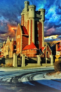 Toronto Ontario ~ Canada ~ Stables of Casa  Loma Castle ~ Heritage Property