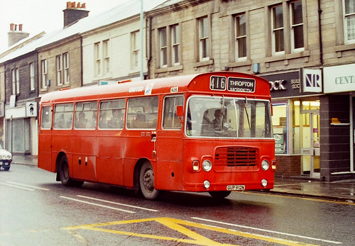 Newcastle Buses - January 1985 - GUP912N