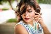 Ansuree [Stranger #52/100] (Vijay Britto Photography) Tags: backlit mikom nikon 14 50mm beautiful pose mumbai indian lady outdoor naturallight eyes 100strangers
