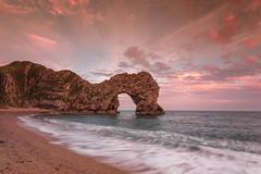 Durdle Door (Esox2402) Tags: dorset durdledoor sunset rocks sea canon6d 1740f4l clouds water sky beach landscape