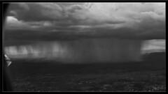 Downpour Somewhere! (Sugardxn) Tags: garypentin sugardxn photoshop picswithframes canon canon7d canoneos7d airplane plane rain downpour cloudburst storm phoenix arizona az