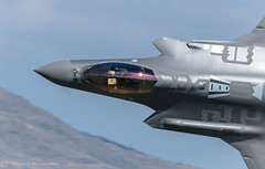 """RUDE"" (tommerchant1) Tags: f35 machloop lfa7 lowlevel lowfly usa usaf motionblur slowshutter fighter fighterjet stealth stealthfighter stateoftheart aircombat military militaryaircraft wales ruderams afb utah 388thfighterwing 34thfightersquadron f35alightning f35a lightning airplane"