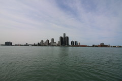 92/365/3379 (September 11, 2017) - Detroit Skyline from Windsor, Ontario - September 11, 2017