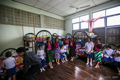 In the Girl's Dorm 6035 (Ursula in Aus) Tags: hilltribeeducationprojects maehongson thep thailand lisu dormitory hilltribe schoolchildren children school