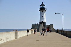 Lighthouse (jpellgen) Tags: duluth mn minnesota northshore midwest usa america nikon sigma travel d7000 1770mm roadtrip summer july 2017 canalpark greatlakes lakesuperior lighthouse