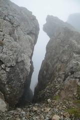 DSC_9386 (nic0704) Tags: scotland hiking walking climbing summit highlands outdoor landscape hill mountain foothill peak mountainside cairn munro mountains skye isle island cuilin cuillin blaven blà bheinn red black elgol