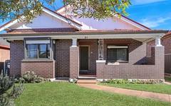 21 Shaw Avenue, Earlwood NSW