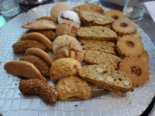 Des petits gâteaux marocains