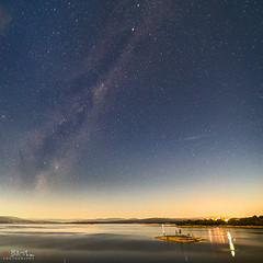 Lake Burrendong (Bill Thoo) Tags: lakeburrendong burrendong nsw newsouthwales australia lake dam reservoir water milkyway night sky stars longexposure galaxy scenic landscape travel rural country bush sony a7rii ilce7rm2 samyang 14mm star astro astrophotography